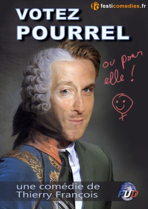 affiche Votez Pourrel
