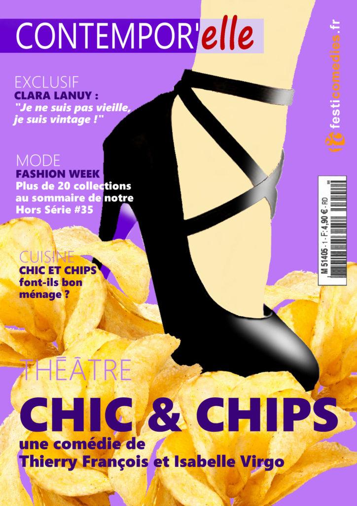 CHIC & CHIPS - Comédie pour le théâtre - une drôle d'immersion dans le monde de la mode