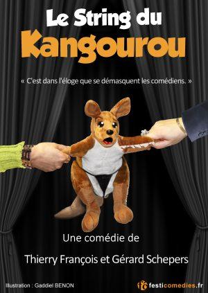 affiche Le string du kangourou